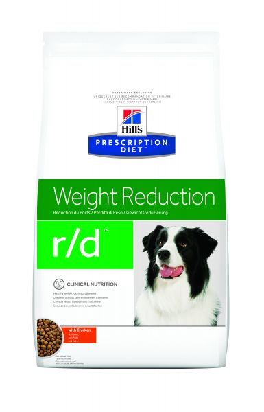 HILL'S PRESCRIPTION DIET CANINE R/D OBESITAS HONDE HONDENVOER #95;_12 KG