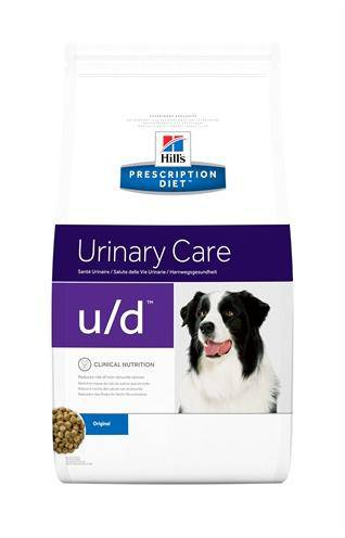 HILL'S PRESCRIPTION DIET CANINE U/D URAAT/CYSTINEB HONDENVOER #95;_12 KG