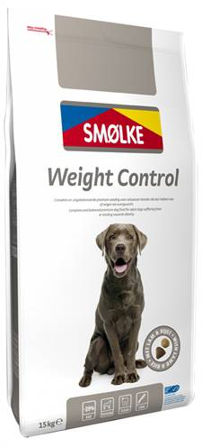 SMOLKE WEIGHT CONTROL HONDENVOER #95;_15 KG