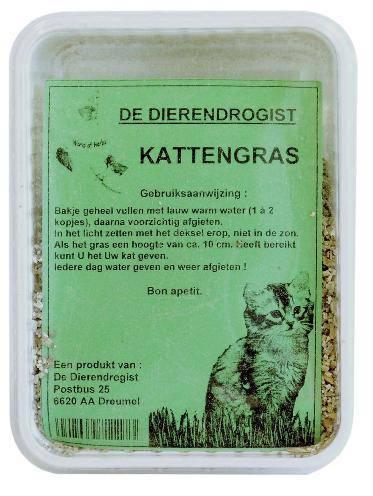 DIERENDROGIST KATTENGRASBAK #95;_GROOT