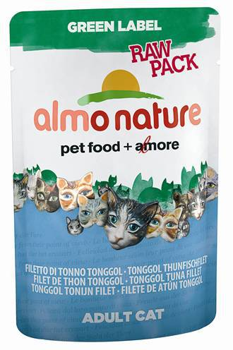 ALMO NATURE CAT GREEN LABEL TONGGOL TONIJNFILET KATTENVOER #95;_55 GR