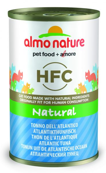 ALMO NATURE CAT ATLANTISCHE TONIJN KATTENVOER #95;_140 GR