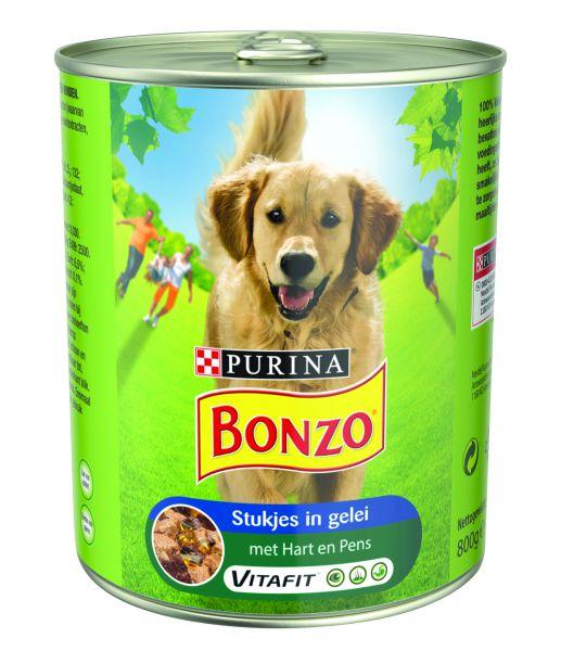 BONZO BLIK HART/PENS HONDENVOER #95;_800 GR