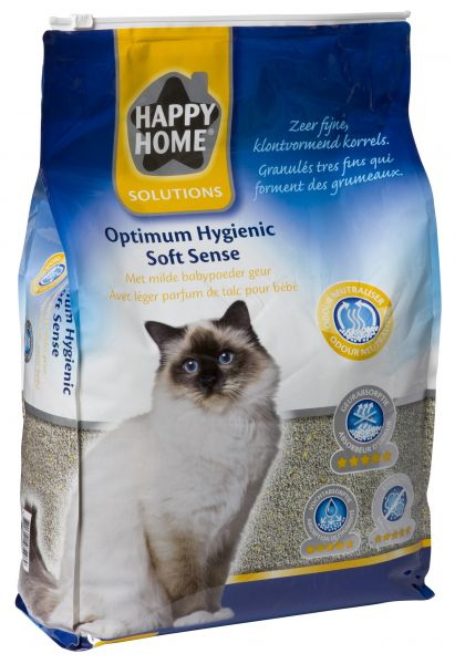 HAPPY HOME SOLUTIONS OPTIMUM HYGIENIC SOFT SENCE KATTENBAKVULLING #95;_12 LTR