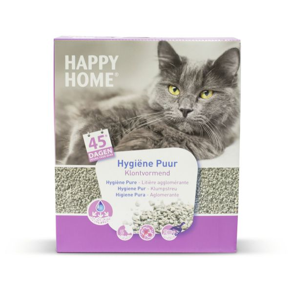 HAPPY HOME SOLUTIONS ULTRA HYGIENIC PURE KATTENBAKVULLING #95;_10 LTR