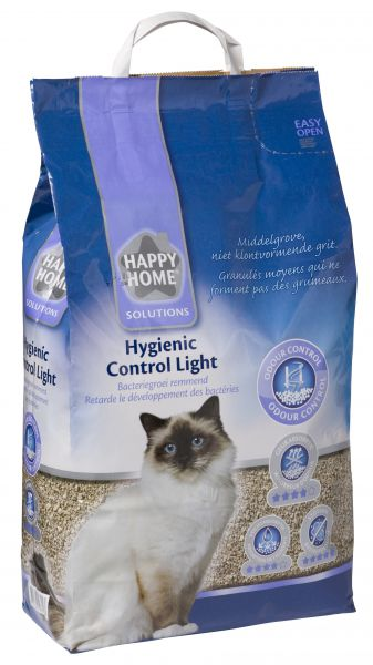 HAPPY HOME SOLUTIONS HYGIENIC CONTROL LIGHT KATTENBAKVULLING #95;_12 LTR