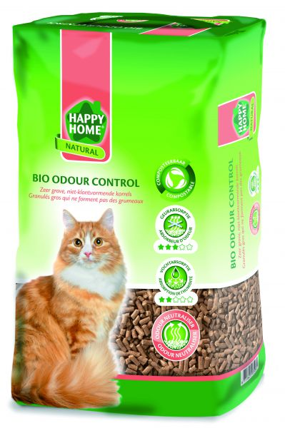 HAPPY HOME NATURAL BIO ODOUR CONTROL KATTENBAKVULLING #95;_20 LTR