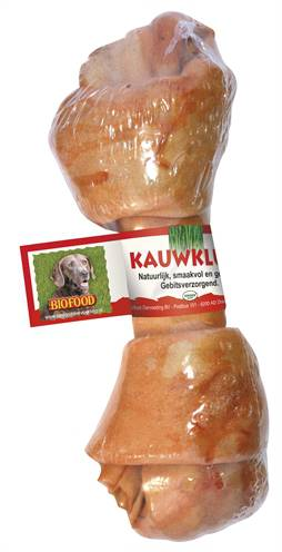 BIOFOOD KNOOP NATUREL KIP #95;_7-8 INCH 17-20 CM