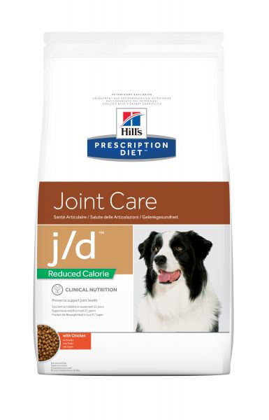 HILL'S PRESCRIPTION DIET CANINE J/D REDUCED CALORI HONDENVOER #95;_12 KG