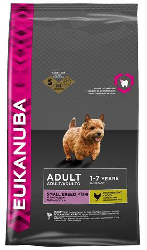 EUKANUBA DOG ADULT SMALL BREED HONDENVOER #95;_1 KG