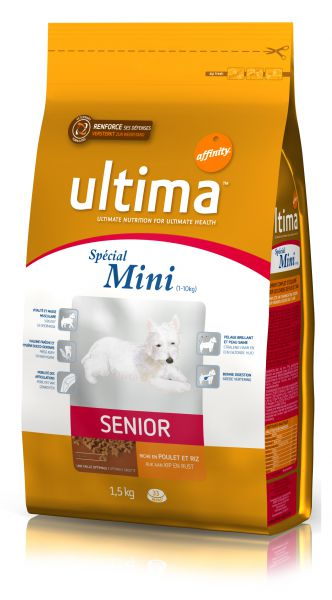 ULTIMA HOND SPECIAL MINI SENIOR HONDENVOER #95;_1,5 KG