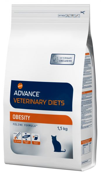 ADVANCE KAT VETERINARY DIET OBESITY KATTENVOER #95;_1,5 KG