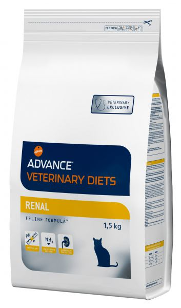 ADVANCE KAT VETERINARY DIET RENAL FAILURE KATTENVOER #95;_1,5 KG