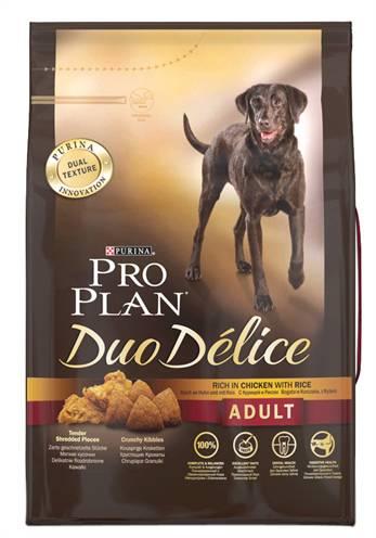 PRO PLAN DOG ADULT DUO DELICE KIP/RIJST HONDENVOER #95;_2,5 KG