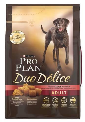 PRO PLAN DOG ADULT DUO DELICE ZALM/RIJST HONDENVOE HONDENVOER #95;_2,5 KG