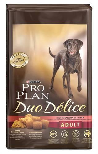 PRO PLAN DOG ADULT DUO DELICE ZALM/RIJST HONDENVOE HONDENVOER #95;_10 KG