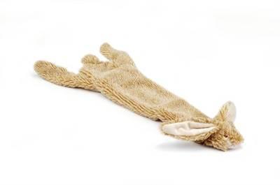 Flatino pluche unstuffed konijn bruin #95;_52CM