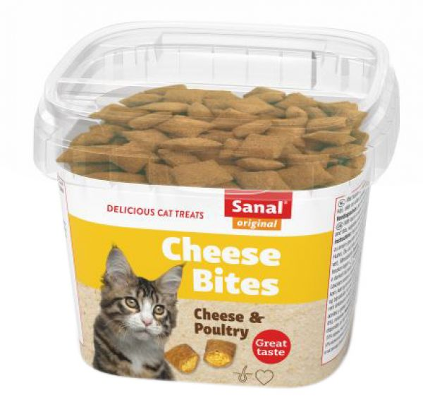 SANAL CAT CHEESE BITES CUP #95;_75 GR