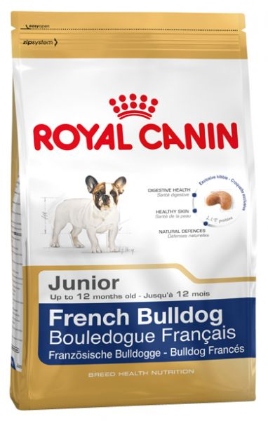 ROYAL CANIN FRENCH BULLDOG JUNIOR HONDENVOER #95;_10 KG