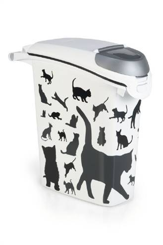 CURVER VOEDSELCONTAINER OPDRUK KAT SILHOUETTE STAP #95;_23 LTR