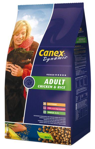 CANEX ADULT CHICKEN/RICE HONDENVOER #95;_3 KG