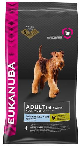 EUKANUBA DOG ADULT LARGE BREED HONDENVOER #95;_12 KG