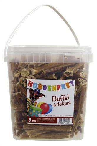 HONDENPRET BUFFELSTICKIES #95;_5 LTR