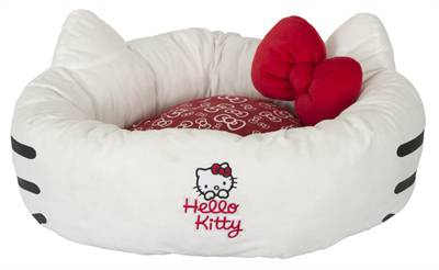 HELLO KITTY SNUGGLE DONUT BED #95;_55X55X21 CM