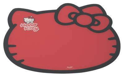 HELLO KITTY PLACEMAT KITTY DESIGN ROOD #95;_43X38 CM