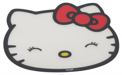 HELLO KITTY PLACEMAT KITTY DESIGN WIT #95;_43X38 CM